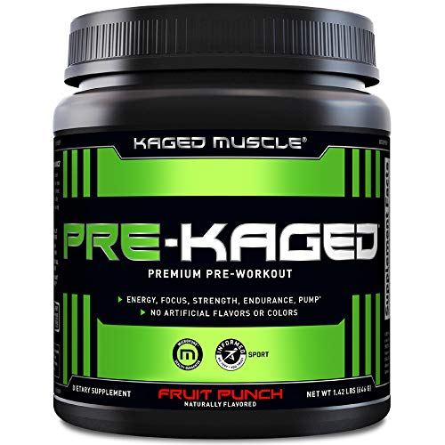 KAGED MUSCLE Preworkout for Men