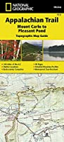National Geographic Appalachian Trail, Mount Carlo to Pleasant Pond, Maine Topographic Map Guide (National Geographic Map Guides)