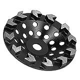 Mola a Tazza Diamantata Dischi Abrasivi 10 Denti per Levigatura Pietra di Granito Marmo Mu...