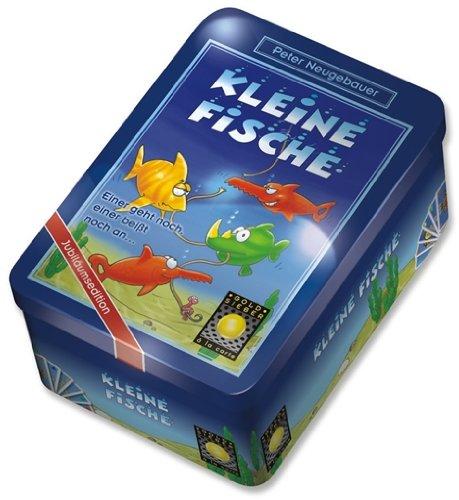 Goldsieber 606181226 - Kleine Fische - Metalldose, Kinderspiel