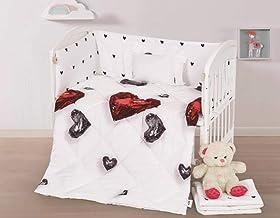 5-Piece Baby Collection Crib Bedding Set-Lucas-019