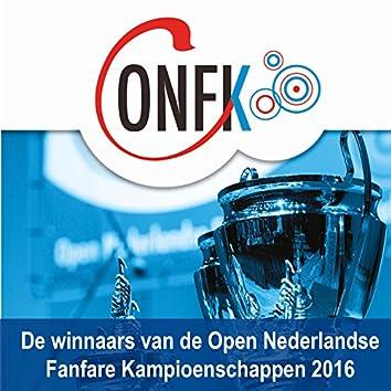 Winnaars Open Nederlandse Fanfare Kampioenschappen 2016