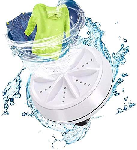 FYBHSC Mini Lavadora Limpiador ultrasónico portátil con Mini Lavadora y Secadora USB para lavavajillas de Suciedad para Viajes de Negocios Apartamento de Viaje de Negocios Familiar