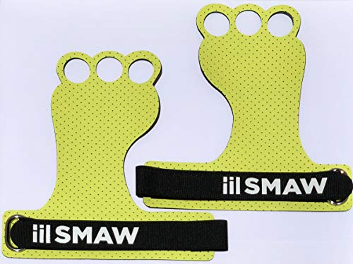 iiL SMAW Grips 3H - Calleras para Crossfit,Guantes para Gimnasio,Gymnastics Grips,Fitness, Chin Ups Protect Your Palms, Pullups, Weight Lifting,