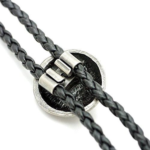 Silver1(シルバーワン)『本革ループタイ』
