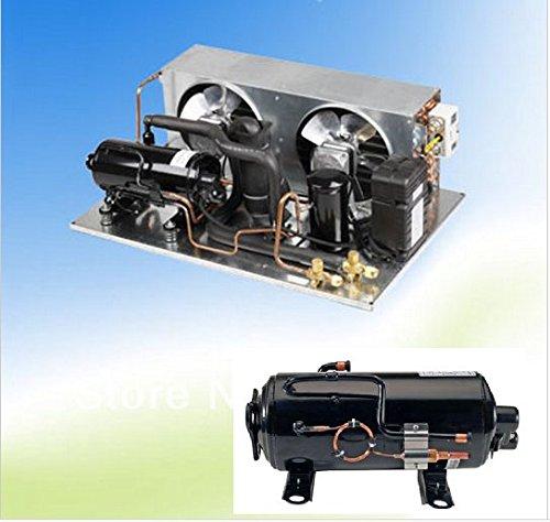 GOWE refigeration piezas R22unidad de compresor de refrigeración condensación capacidad 1HP de...