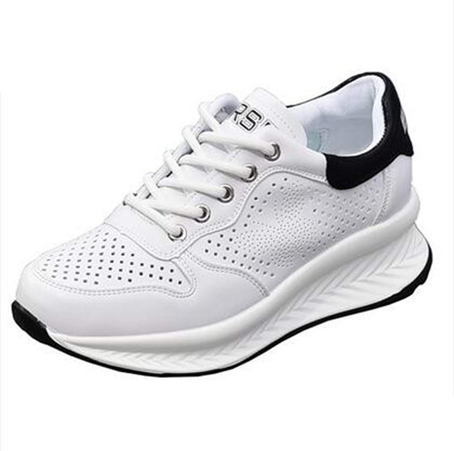 T-JULY Spring Summer Wedges White shoes Female Platform Sneakers Women Tenis Feminino Casual Female shoes