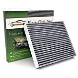 Cabin air filter for Toyota Corolla (2002~2008),Matrix (2003-2008),Replace CP133,CF10133 (Activated Carbon,1 Pack)