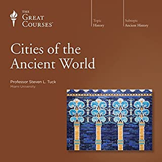 Cities of the Ancient World audiobook cover art