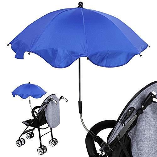 Paraguas Paraguas Ajustable para Cochecito De Bebé, Toldo para El Sol, Soporte Elástico, Soporte para Cochecito De 360 Grados, Accesorios para Carri