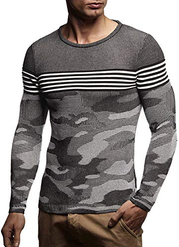 Men's Sweater Knitted Shawl Turtleneck Sweater Pullover Streetwear Man's Sweater Dark Grey L
