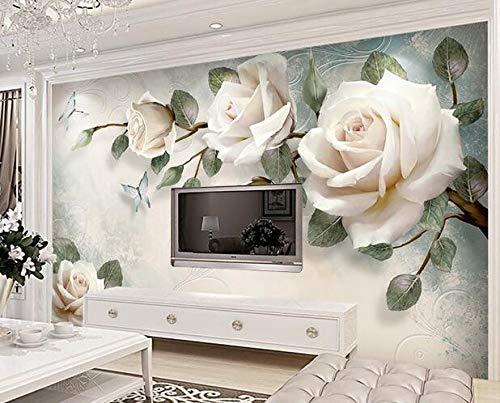 Europese TV achtergrond muur moderne eenvoudige hand geschilderd olieverfschilderij bloem Europese achtergrond decoratieve schilderij 200×150cm 200×150cm