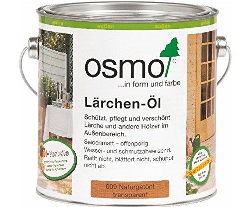 Osmo Set 2 x 2,5 l Lärchen-Öl 009 + PInsel 60mm GRATIS