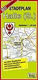Stadtplan Halle (Saale): Maßstab 1:20000