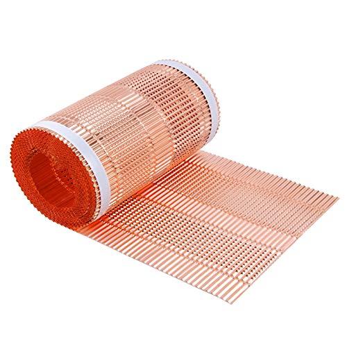 Stabilo Kupfer Rollfirst, Kupferrollfirst, Firstband, Dachrolle, Gratrolle, Kupferband, 300 mm