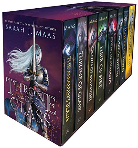 Throne of Glass Box Set: 1-7