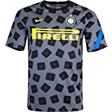 Nike Camiseta Inter Milan PreMatch (XL, gris)