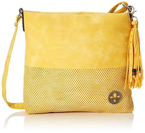 Rieker Damen Handtasche H1342, Gelb (Sonne), 260x50x270 cm