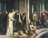 Get Custom Art Carl Bloch - Christ Healing...