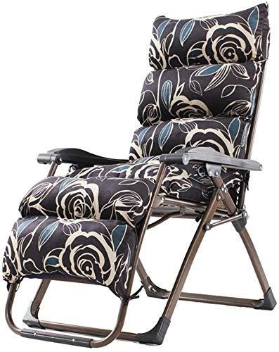 Silla de gravedad Silla de salón reclinable Silla plegable al aire libre Silla Sillón Silla de jardín Silla de mesa Silla, sillón de silla de silla de gravedad de servicio pesado, 67x53x78cm Para el h