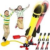 Meroy Juegos Exterior Niños, Cohete Juguete Lanzador Juguetes Niños 3-12 Años Regalo Niña 3-12 Años Regalos para Niños de 3-12 Años Juguetes Niña 3-12 Años Juegos al Aire Libre para Niños