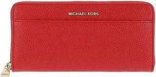 93268ec5e61 Michael Kors Portefeuilles Femmes Money Pieces 32S7GM9E9L Rouge Cuir Nouveau