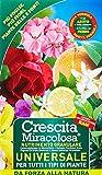 Crescita Miracolosa C007001 Nutrimento Universale Granulare, Verde, 11.5x6.5x19.5 cm