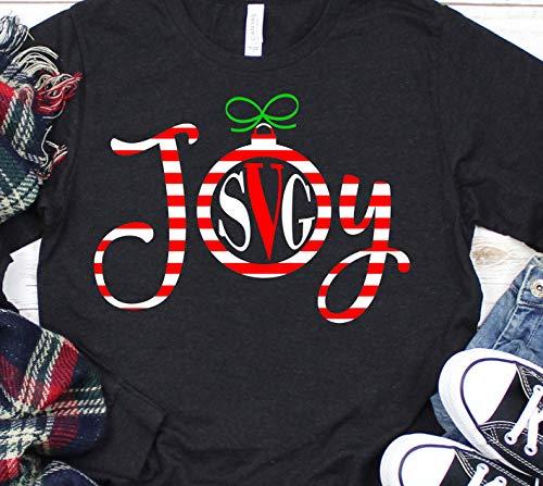 Toll2452 Zuckerstangen-Shirt, Freuden-T-Shirt, Monogramm-Shirt, Weihnachts-Hemd, Urlaubs-Hemd, Weihnachten, T-Shirts, Weihnachts-Shirt, Urlaubs-T-Shirt.
