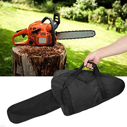 Oxford Stoff Kettensägen Tasche, Tragbare Wasserdichte Kettensägen Kasten Voller Schutz Speicher Tragetasche für Gartenarbeit