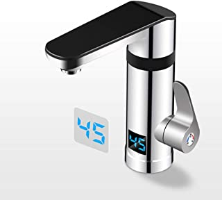 Single Cold Sink Sink Faucet For Home Rotation Electric Hot Water Tap Instant Hot Electric Hot Water Tap Fast Heating Kitchen Fast Water Hot Water Heater Kitchen And Bathroom Dual-use New Upgra