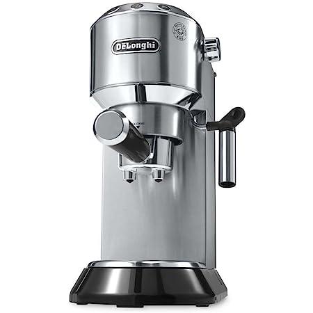 De'Longhi EC 680.M Dedica Espressomaschine (1350 Watt, 15 bar) silber