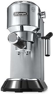 DeLonghi CAFETERA Express EC 680.M LA MAS COMPACTA, 1350 W, 2 Cups, 0 Decibeles, Acero Inoxidable, Plata