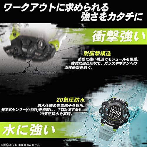 [カシオ]腕時計ジーショックG-SQUADGBD-H1000-1JRメンズブラック