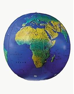 "Replogle 16"" topographical globe"