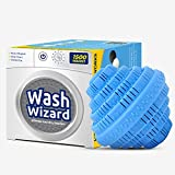 Wash Wizard Laundry Balls For Washing Machine (1 Pack) Reusable Washer Ball, Laundry Detergent Alternative, Lasts up to 1500 Washings