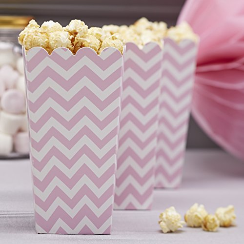 Ginger Ray Rose Chevron Popcorn Partie Traiter Cases - Chevron Divin