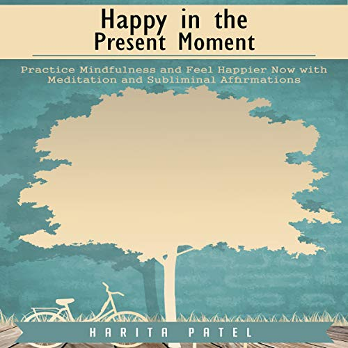 Happy in the Present Moment audiobook cover art