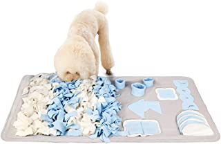 Snuffle Mat for Small Large Dogs Nosework Feeding Mat Easy to Fill and Machine Washable Training Mats Pet Activity/Toy/Play Mat, Great for Stress Release