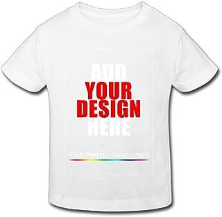 WorldMall Custom Unisex Child T-Shirt Tee - Design Your Own Shirt - Add Your Image Text