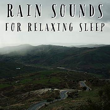 Rain Sounds For Relaxing Sleep
