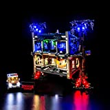Lommer Kit de luz LED para Lego Stranger Things The Upside Down Toy Set, Kit de iluminación para Lego 75810 (no incluye modelo Lego)