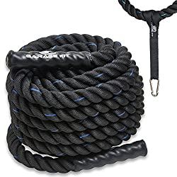 Garage Fit Battle Ropes Poly Dacron Review