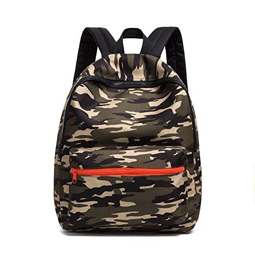 CAIWEI Schultaschen Armee Tarnung Kinder Kinder Rucksäcke Leichte Schulter Rucksack Daypack für Jungen und Mädchen (Army grün)