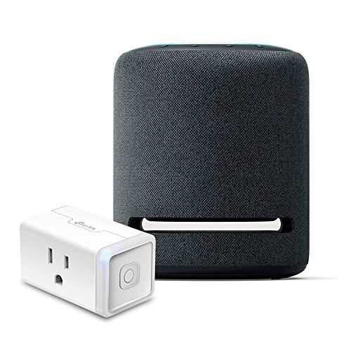 Echo Studio Bundle with TP-Link simple set up smart plug