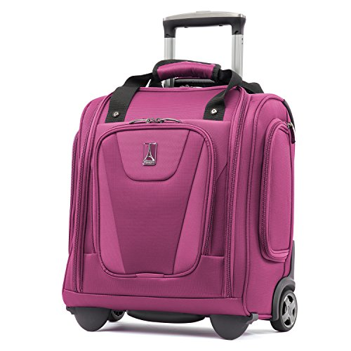 Travelpro Maxlite 4-Rolling Underseat Carry-On Tote Bag, Magenta