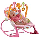 Best Infant To Toddler Rockers - Fisher-Price Infant-to-Toddler Rocker Sleeper, Pink Bunny Pattern Review