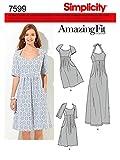 Simplicity Schnittmuster 7599 BB Damen Kleid