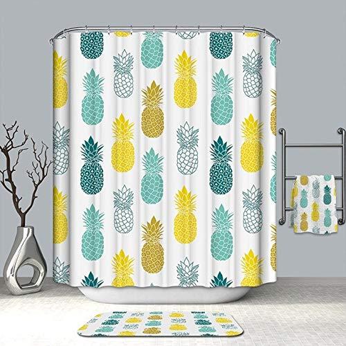 cortinas flores verdes