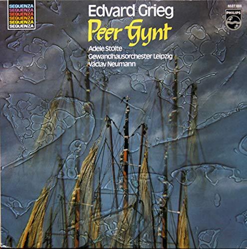 Edvard Grieg , Václav Neumann , Adele Stolte , Gewandhausorchester Leipzig - Peer Gynt - Philips - 6527 086