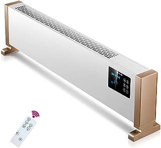 Radiador electrico Zócalo Casa Inteligente Calor rapido Ajuste de Cinco velocidades Protección múltiple Oficina convección Calentador